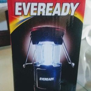 2 (two) Eveready Collapsible Camping LED lanterns